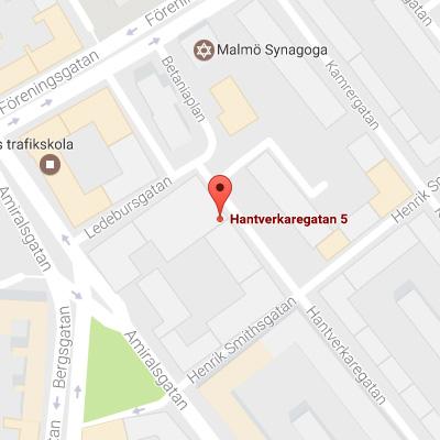 Karta Malmö